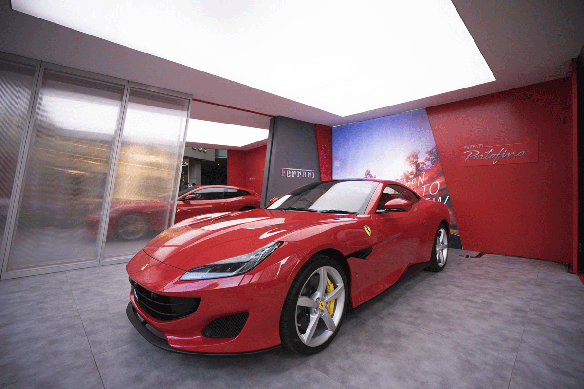 ferrari portofino makes its second appearance in malaysia in pop up experience automology. Black Bedroom Furniture Sets. Home Design Ideas