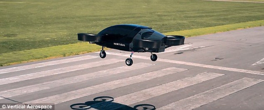 Vertical Aerospace, UK's First Electric Flying Taxi, to be Up and Flying Within 4 Years