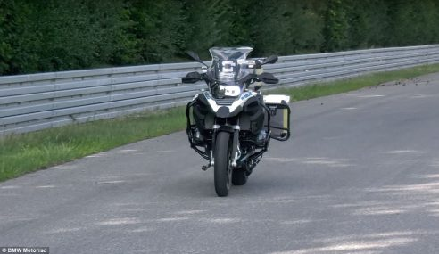 VIDEO: BMW Reveals Ghost Rider Bike – It Starts, Rides and Brakes, All By Itself