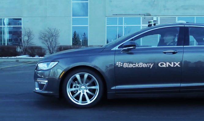 Blackberry Enters the Autonomous Car Race